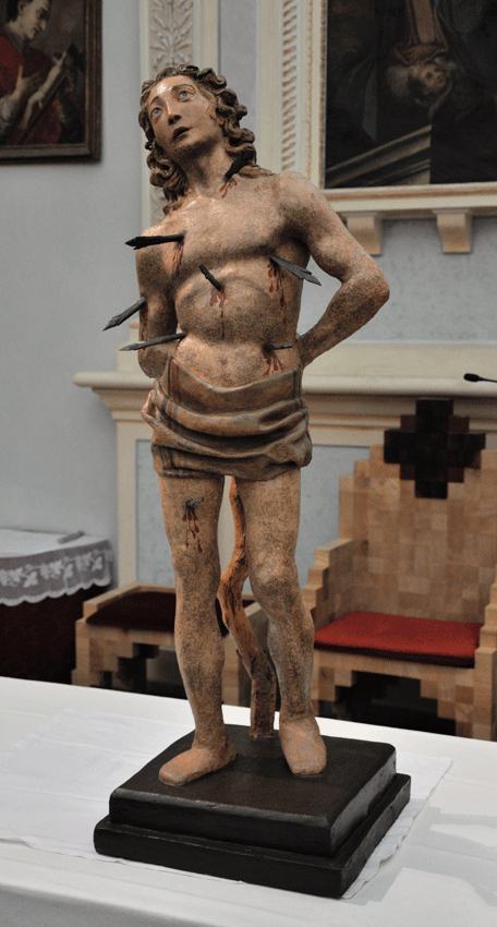 Foto Statua San Sebastiano