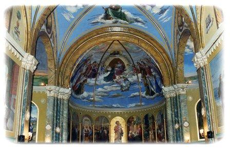Affresco centrale Chiesa del Convento di Montescosso