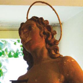 Consegna della Statua di San Sebastiano restaurata