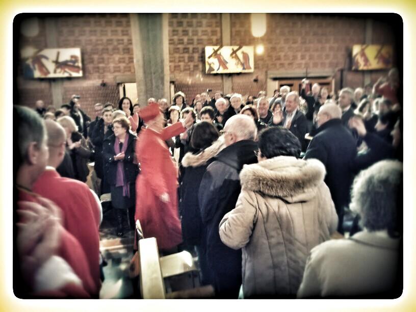La gioia della comunità perugino pievese per il Cardinal Bassetti