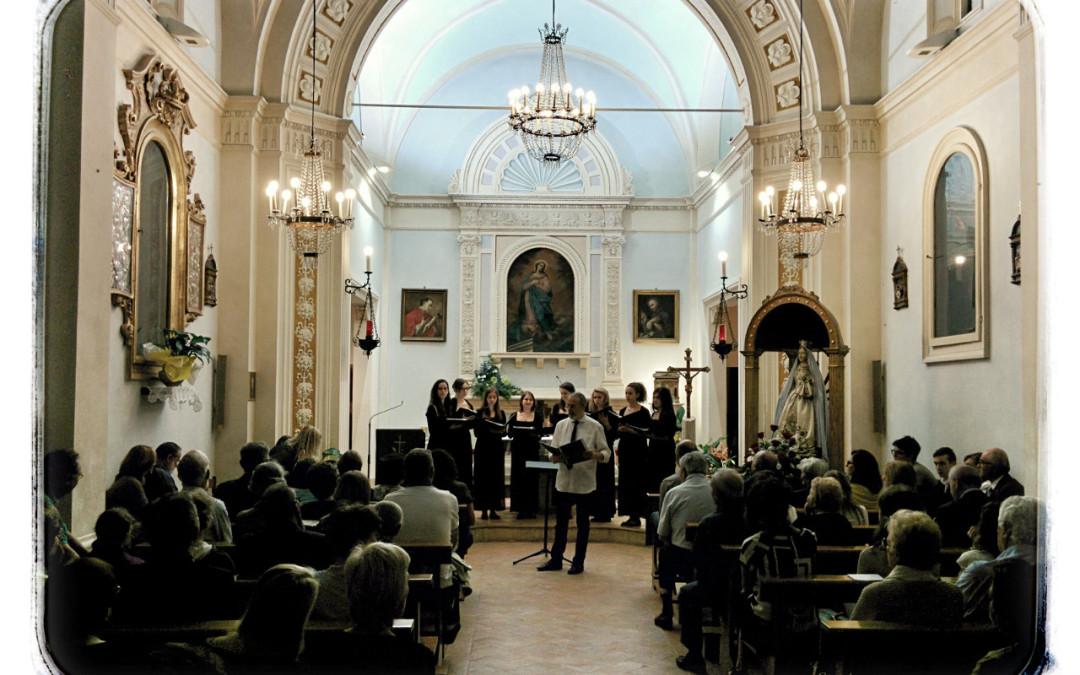 Messa per gli anniversari di matrimonio e concerto del coro Octava Aurea