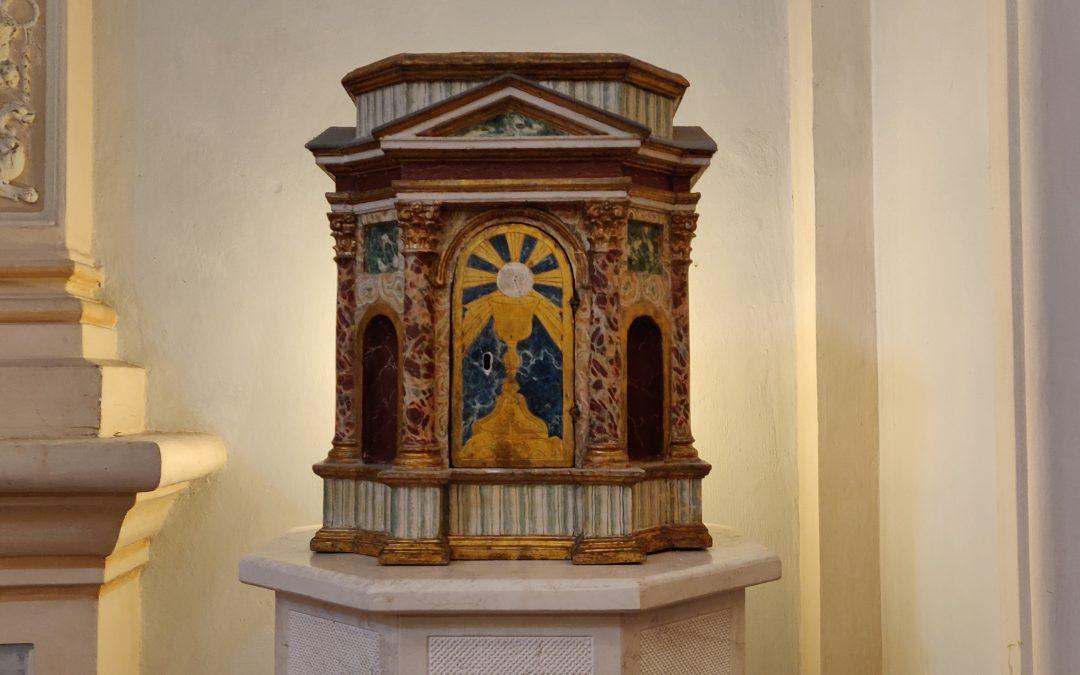 Registrazione della S.Messa a Villa Pitignano del 29 marzo 2020